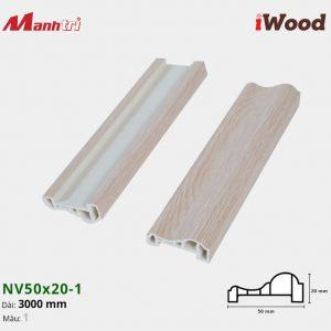 iWood nẹp viền NV50x20-1