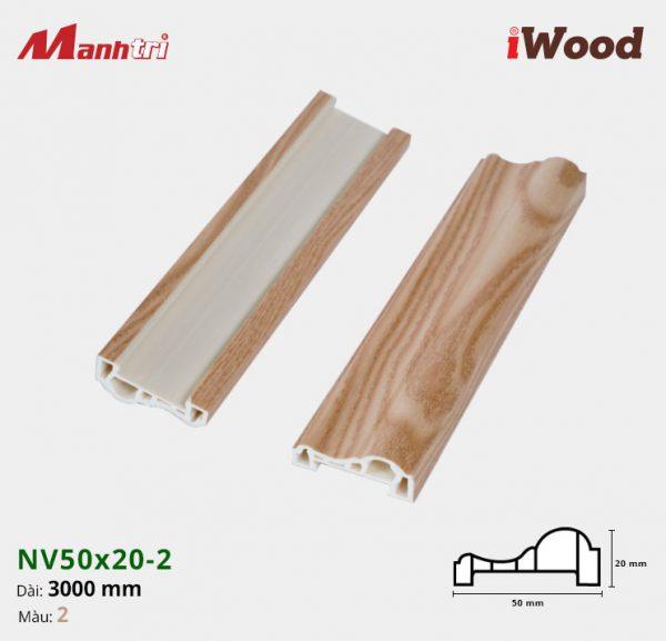iWood nẹp viền NV50x20-2