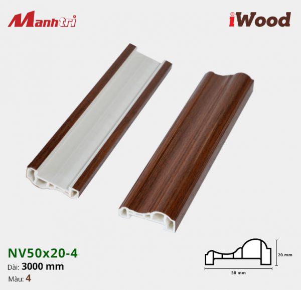iWood nẹp viền NV50x20-4