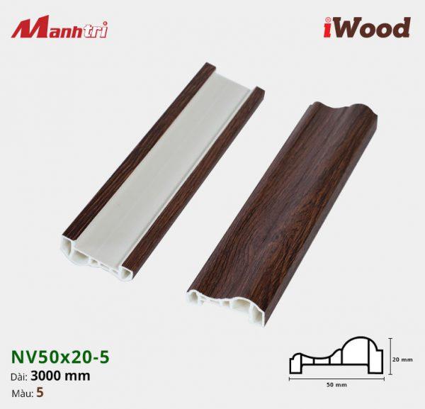 iWood nẹp viền NV50x20-5