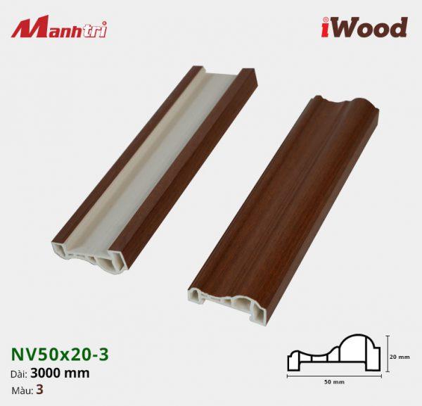iWood nẹp viền NV50x20-6