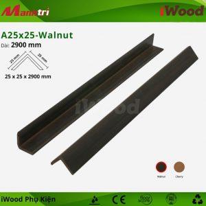 iWood phụ kiện A25x25 Walnut