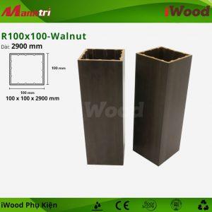 iWood phụ kiện R100x100-Walnut hình 1