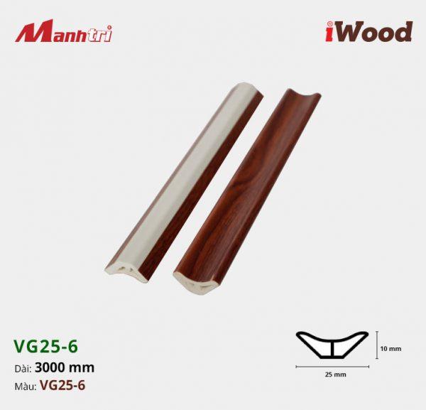 nẹp góc iWood VG25-6 hình 1