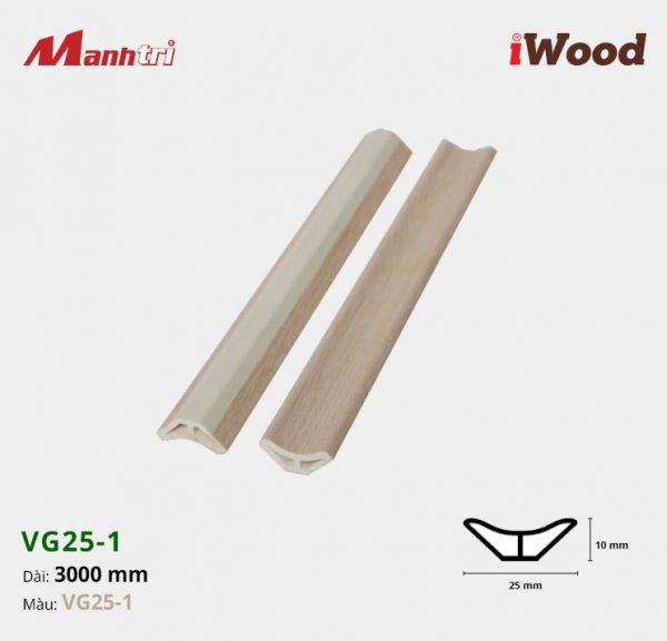 nẹp góc iWood VG25-1 hình 1