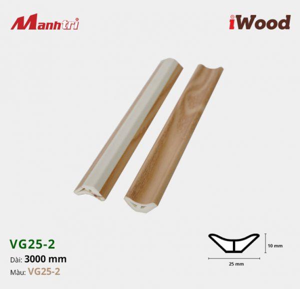 nẹp góc iWood VG25-2 hình 1