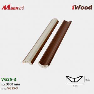 nẹp góc iWood VG25-3 hình 1