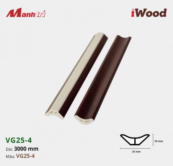 nẹp góc iWood VG25-4 hình 1