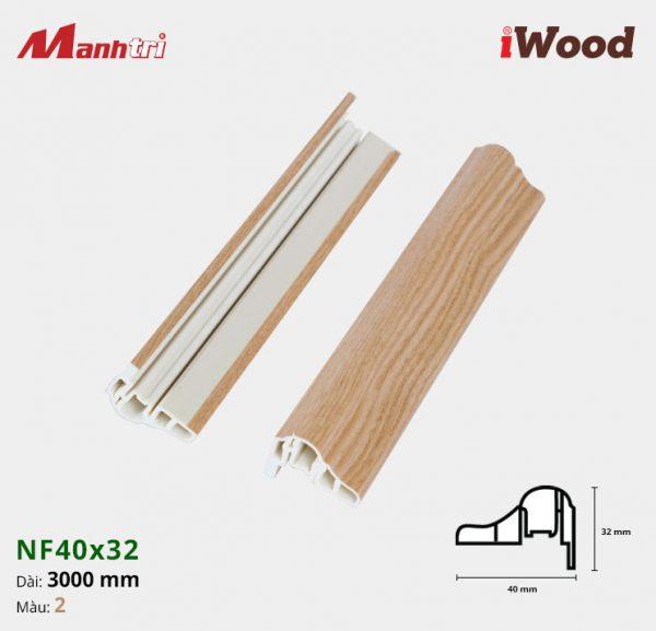 iWood Nẹp NF40x32-2