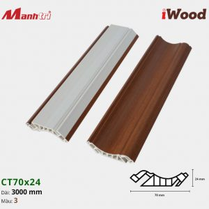 iWood Nẹp trần CT70x24-3