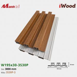 tấm ốp iWood 3S30P-3 hình 2