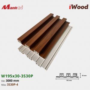 tấm ốp iWood 3S30P-4 hình 2