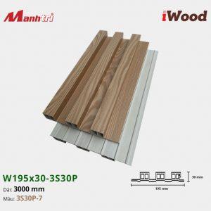 tấm ốp iWood 3S30P-7 hình 3