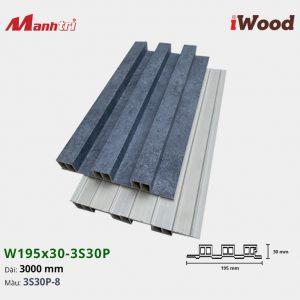 tấm ốp iWood 3S30P-8 hình 2