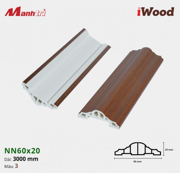 iWood nẹp viền NN60x20-3