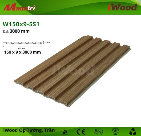 iWood W150x9-5S1 hình 1