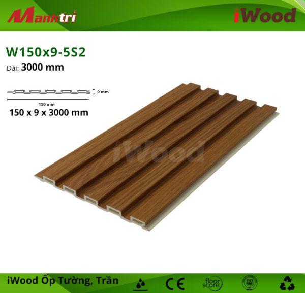 iWood W150x9-5S2 hình 1