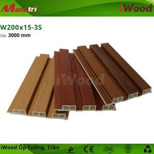 iWood W200x15-3S hình 2