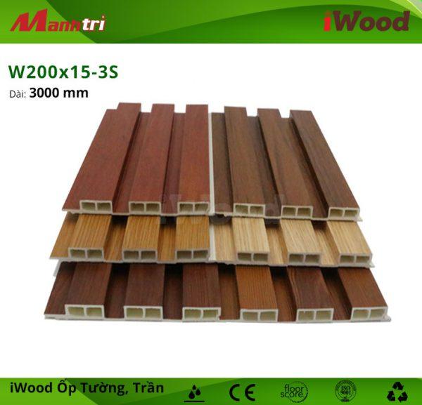 iWood W200x15-3S hình 1