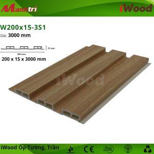 iWood W200x15-3S1 hình 1