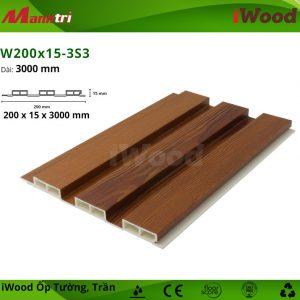 iWood W200x15-3S3 hình 1