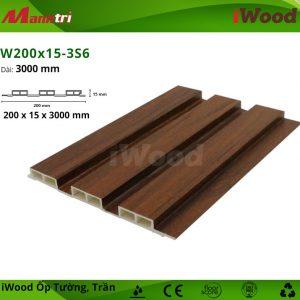 iWood W200x15-3S6 hình 1