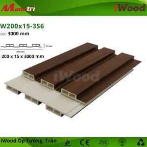 iWood W200x15-3S6 hình 2