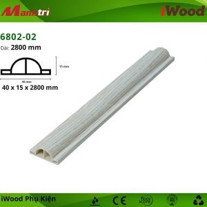 Nẹp thắt lưng iWood 6802-02 hình 1