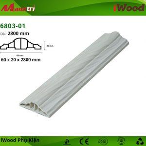 Nẹp thắt lưng iWood 6803-01 hình 1