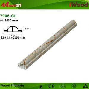 Nẹp thắt lưng iWood 7906-GL hình 1