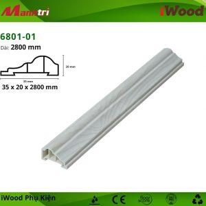 Nẹp viền iWood 6801-01 hình 1