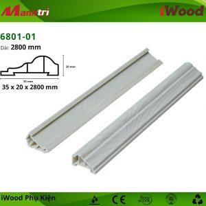 Nẹp viền iWood 6801-01 hình 2