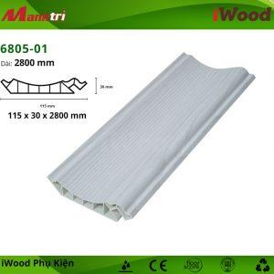Phào đầu trần iWood 6805-01 hình 1