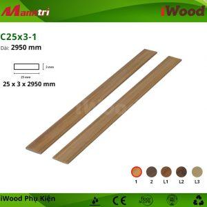 phụ kiện iWood C25x3-1 hình 1