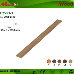phụ kiện iWood C25x3-1 hình 2
