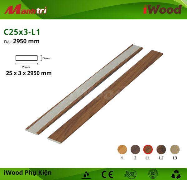 Phụ kiện iWood C25-3-L1 hình 1