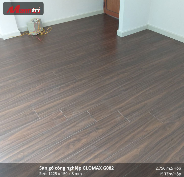 Hoàn thiện công trình sàn gỗ Glomax G082