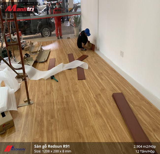 Sàn gỗ Redsun mã R91