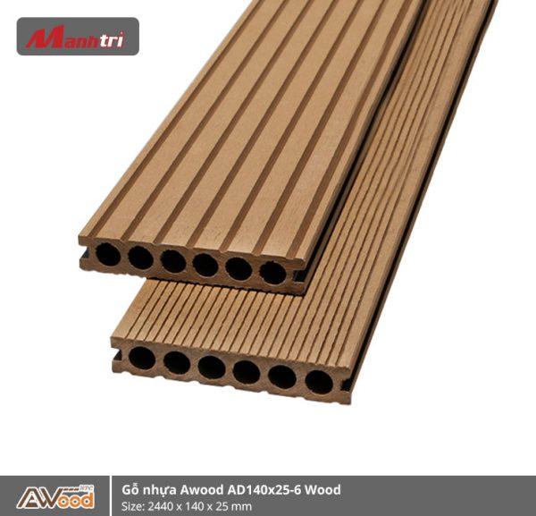 Awood AD140x25-6 wood