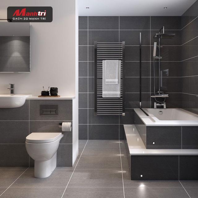 Chọn gạch lát nền nhà vệ sinh nào tốt nhất?