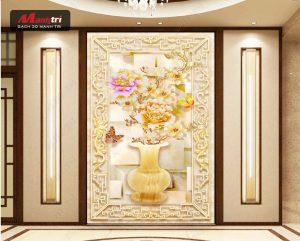 Tranh gạch 3D men sứ ngọc trang trí ngôi nhà đẹp