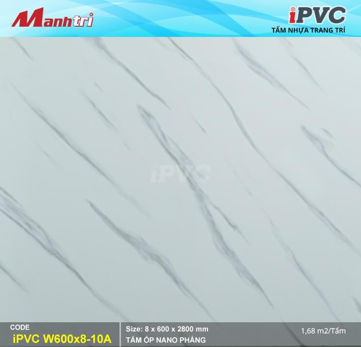 tấm nhựa giả đá pvc mã w600-8-10a-