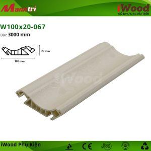 iWood W100x20-067