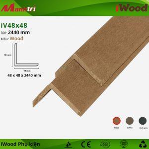 Nẹp iV 48x48-Wood