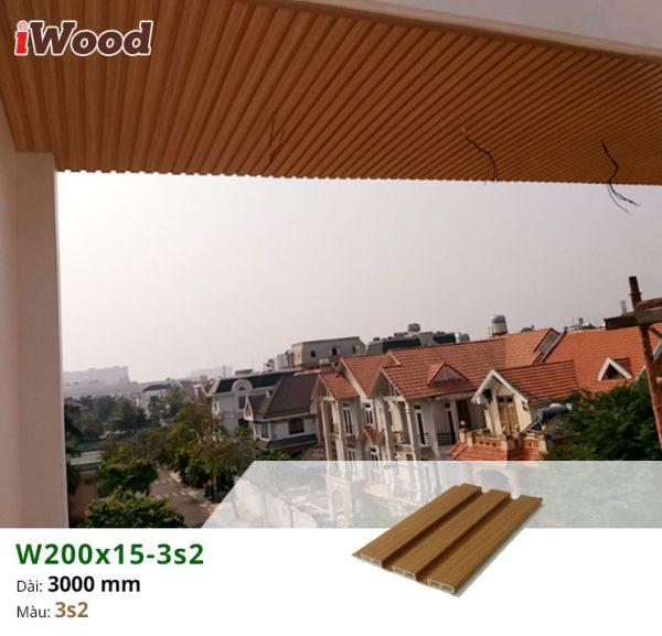 thi công iwood w200x15-3s2 3