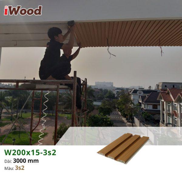 thi công iwood w200x15-3s2 4