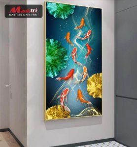 Top những chủ đề của gạch 3D tốt trong phong thủy