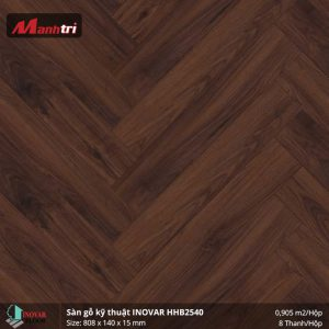 Sàn gỗ kĩ thuật Inovar HHB2540 hình 1