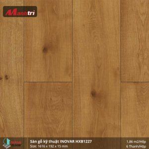 Sàn gỗ kĩ thuật Inovar HXB1227 hình 1