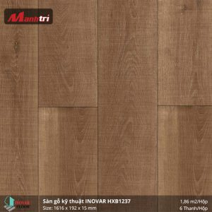 Sàn gỗ kĩ thuật Inovar HXB1237 hình 2